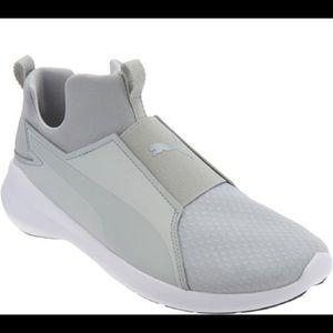 PUMA slip on sneakers